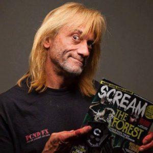 GeorgeG with Scream Mag